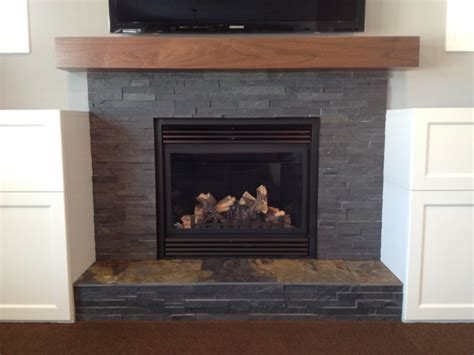 Faced Fireplace by Splitface Fireplace Living Room Other Metro By