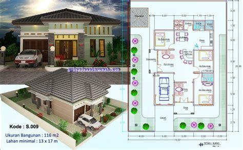 desain rumah 3 kamar mushola rumah 1 lantai elegan 3 kamar tidur jasa desain rumah