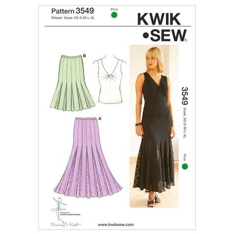 patterns sewing joannes mccall pattern k3549 xs s m l x kwik sew pattern jo ann