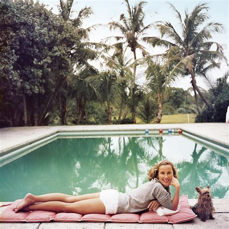 poolside with slim aarons 0810994070 photos by slim aarons everyday i show