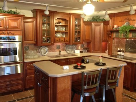 triple a cabinets philadelphia cherry kitchen