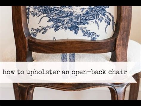 how to add a back to a bench how to upholster the back of an open frame chair miss