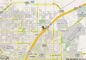 Map Of North Las Vegas by Map Of Holiday Inn Express Hotel Amp Suites N Las Vegas