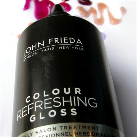 frieda color gloss frieda color refreshing gloss frieda colour