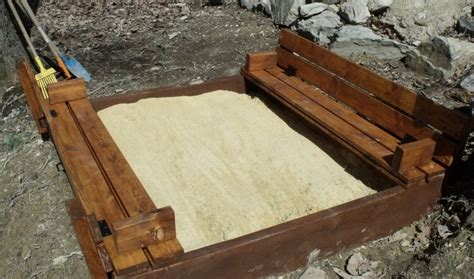 bench sandbox plans wagon wheel bench plans woodworking projects plans