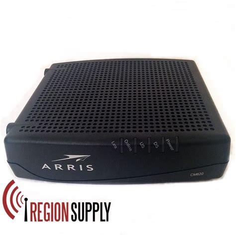 arris touchstone cable modem cm820 docsis 3 0 8x4 review arris cm820a cable modem docsis 3 0 for parts not working