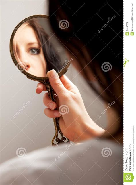 black mirror z eyes mirror reflection of an eye stock photo image 24347862