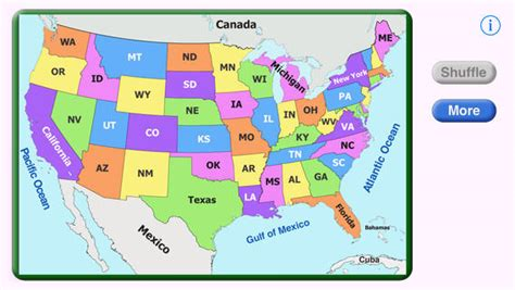 map us puzzle united states puzzle on the app store