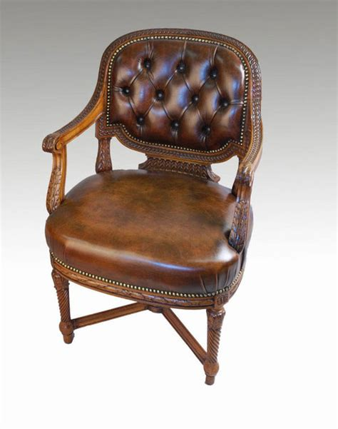 mahogany framed office chair for sale antiques com