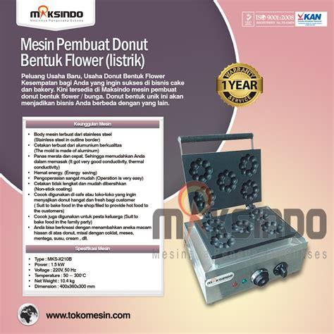 Oven Listrik Di Surabaya jual mesin pembuat donut bentuk flower listrik di