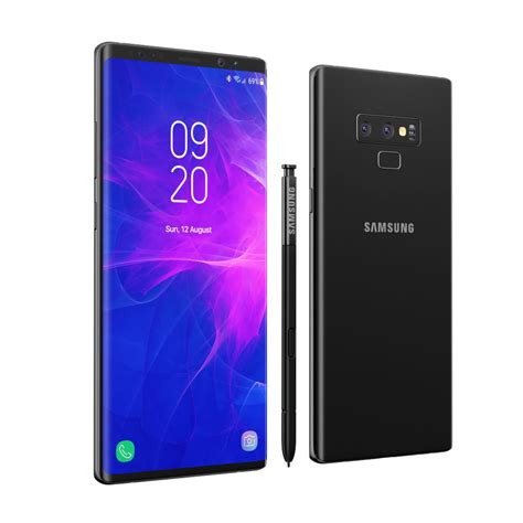 3 samsung note 9 check out the 3d renders of the galaxy note 9