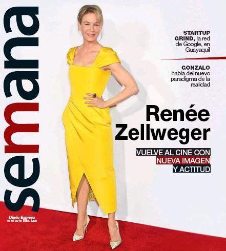 renee zellweger december 2018 ren 233 e zellweger semana magazine 07 january 2018 cover