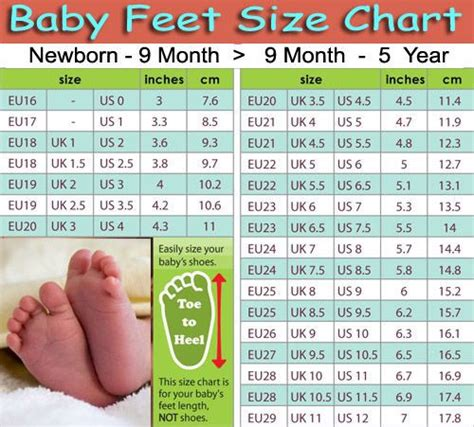 shoe size chart for 1 year old baby shoe sizes 4u hf helpful stuff pinterest