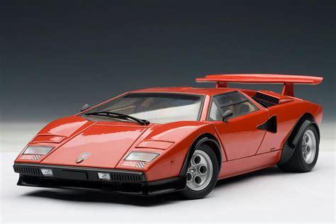 Lamborghini Countach Lp500s Autoart Lamborghini Countach Lp500s Walter Wolf Edition