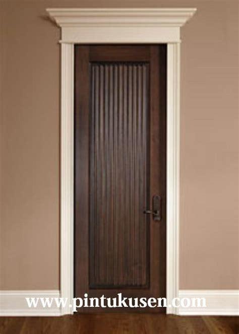 Jual Rockwool Jepara jual pintu kamar minimalis jati kp 058 harga murah jepara