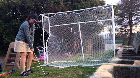 backyard golf net diy backyard golf net outdoor furniture design and ideas