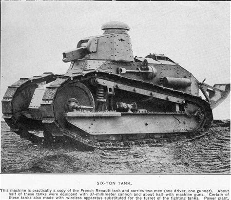 french renault tank french renault 600 ton andre ww1 tank ww1 pinterest
