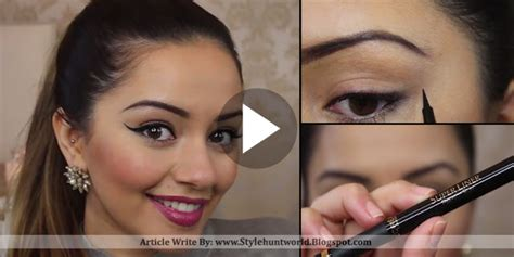 winged eyeliner tutorial asian south asian winged eyeliner tutorial by kaushal beauty
