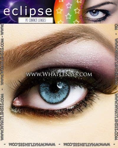 light blue contact lenses eclipse color light blue contact lenses pair