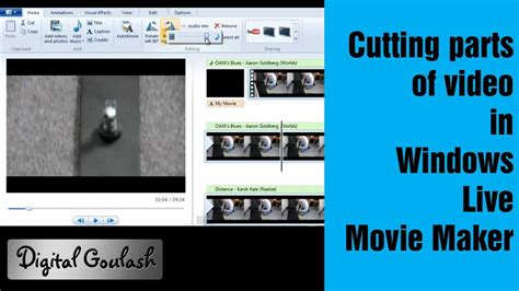 windows live movie maker tutorial cut windows movie maker made easy cutting parts out of your