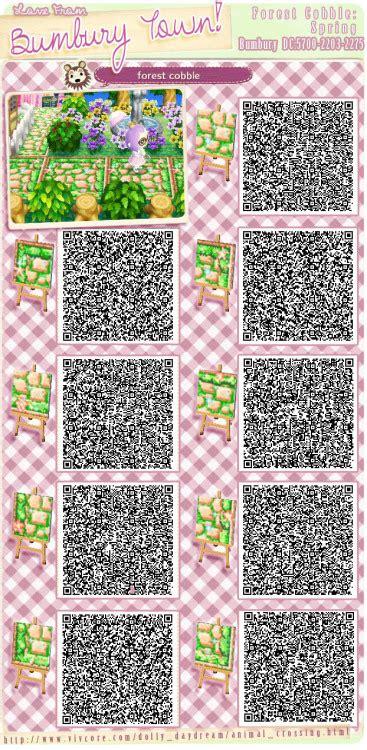 acnl spring colors acnl qr code paths tumblr