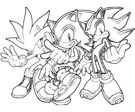 Coloring Pages Of Sonic And Shadow sonic shadow coloring pages coloring home