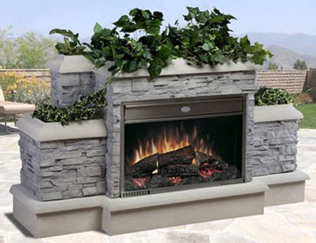 Outdoor Electric Fireplace Dimplex Outdoor Electric Fireplace Is Ultra Revolutionary