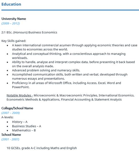 cv template download reed graduate cv template reed co uk