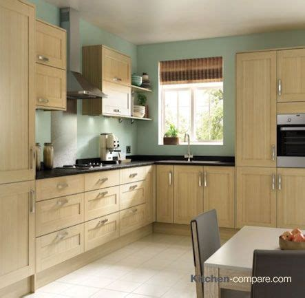 Oak Effect Kitchen Cabinets by 1000 Images About Oak Effect Shaker Kitchens On