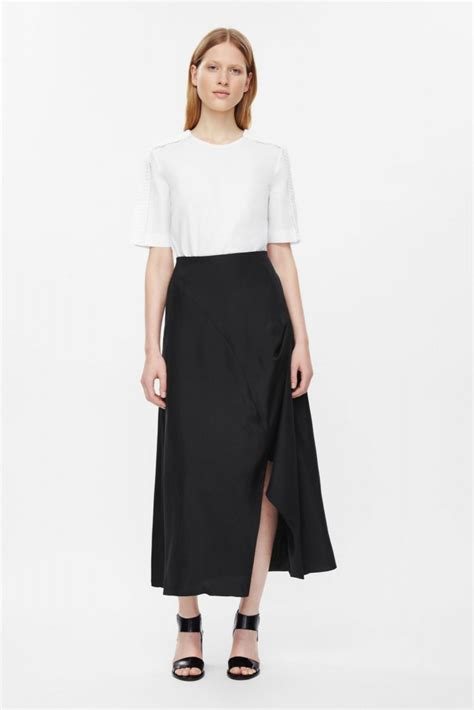 the midi skirt how to wear a skirt in winter