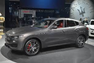 Maserati Levant New York 2016 Maserati Levante Gtspirit