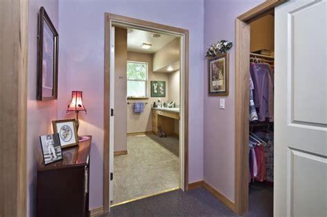 Ada Closet Design Accessible Bath Closet Design Traditional Bathroom