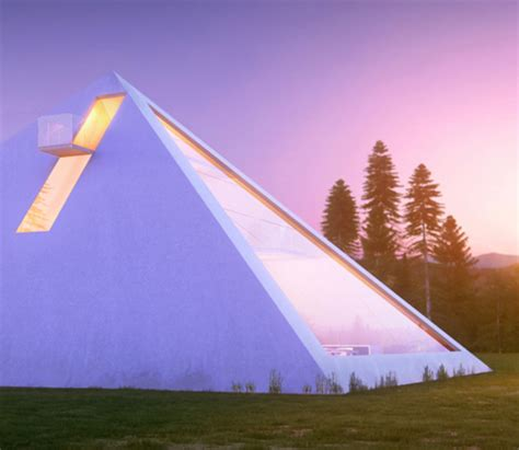 Futuristic Homes Interior Futuristic Pyramid House Fit For An Ultra Modern Pharaoh