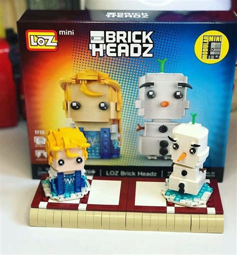 Nano Block Olaf 61 best loz mini images on brick bricks and legos