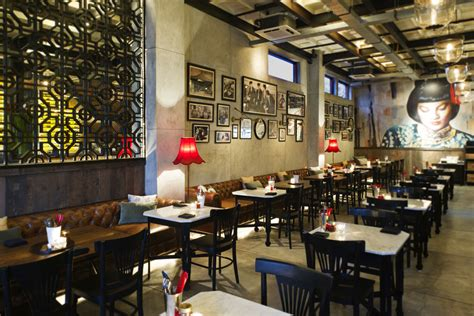 Kitchen Tiled Walls Ideas Mama San Restaurant Seminyak Asian Restaurant Bali