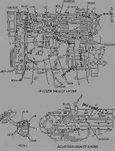 2564472 wiring engine engine marine caterpillar c15 c15 marine engine rla00001 up