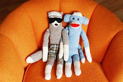 diy sock monkey easy sock monkey and friend diy a beautiful mess