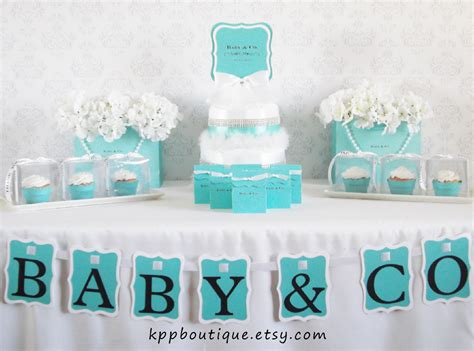 And Co Inspired Baby Shower co inspired baby shower bridal shower by kppboutique