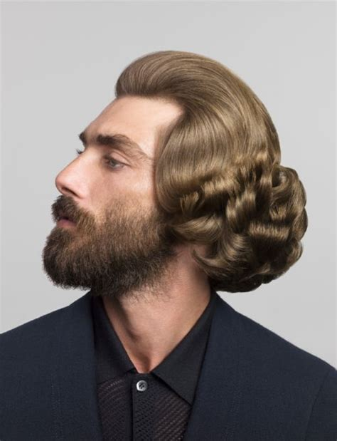 silly mens haircut styles 54 best images about men with updos on pinterest muscle