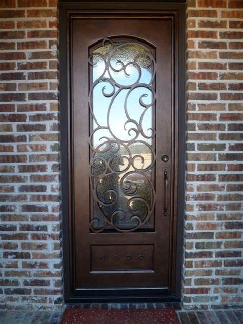 front iron doors custom iron door