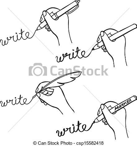 how to do doodle writing vector clip of doodle writing csp15582418