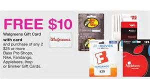 Restaurant Gift Cards At Walgreens - applebees gift card pkhowto