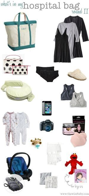 What To Pack In Hospital Bag For C Section by Things To Put In Your Hospital Bag
