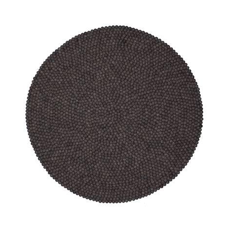 teppich klein rund myfelt hugo teppich rund 140 cm anthrazit kaufen