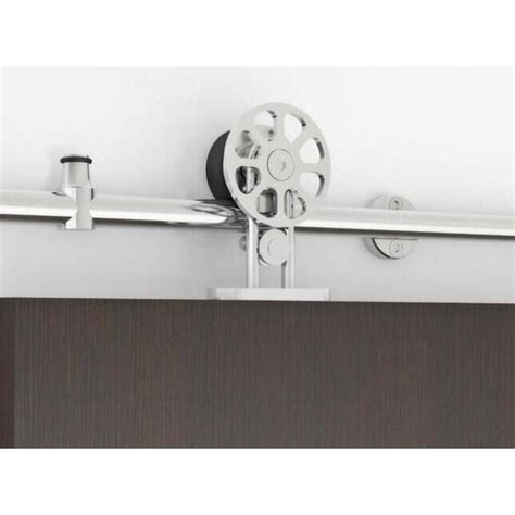 Stainless Barn Door Hardware Winsoon 8 16ft Modern Barn Door Hardware Stainless Wood Doors Track Kit