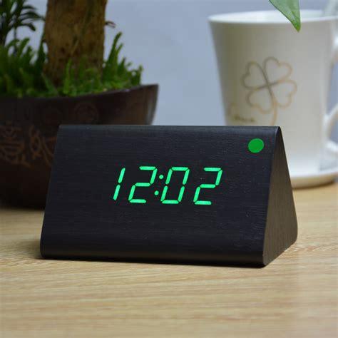desk alarm clock wholesale modern thermometer desk clocks led digital