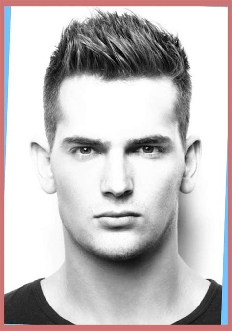 Hair Styles For Oblong Mens Face Shapes | short haircuts for thick curly hair and round face hairs