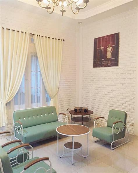 desain ruang tamu minimalis bergaya klasik vintage terbaru  dekor rumah