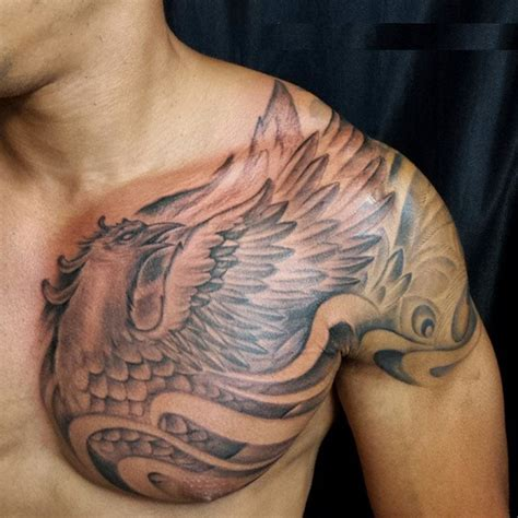 phoenix tattoo chest arm 60 incredible phoenix tattoo designs you need to see