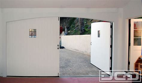 Garage Door Conversion To Doors by Colonial Carriage Doors Real Out Swing Garage